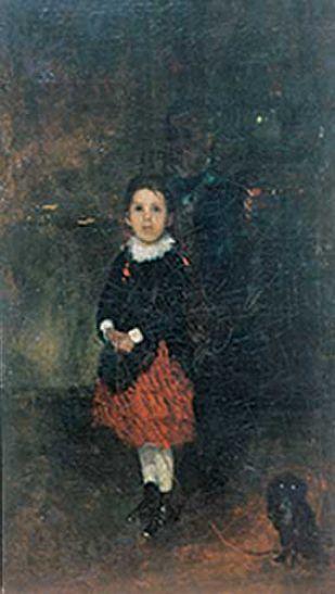 Dziewczynka z pieskiem 1874