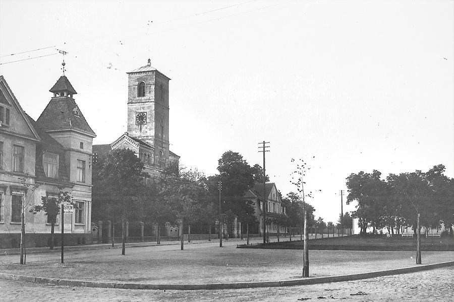 Plac Wolności stare zdjęcie