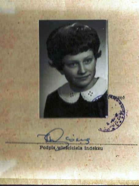 50 lat temu rozpoczynałam studia w Poznaniu