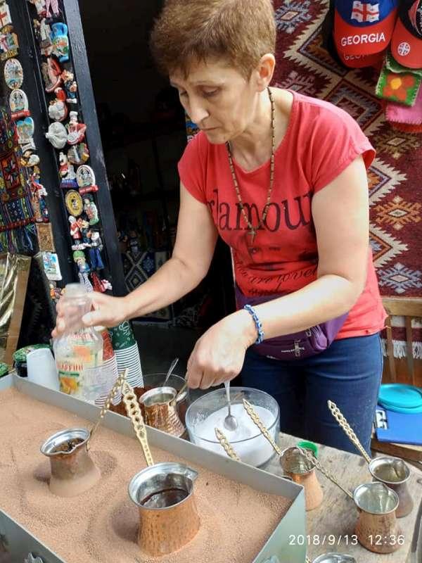 3D Sighnaghi kawa w tygielkach-800