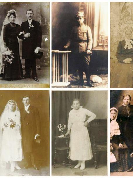 Moi dziadkowie Leśni i Ratajczakowie