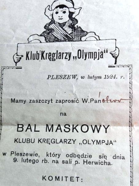 Tak się bawił Pleszew 95 lat temu