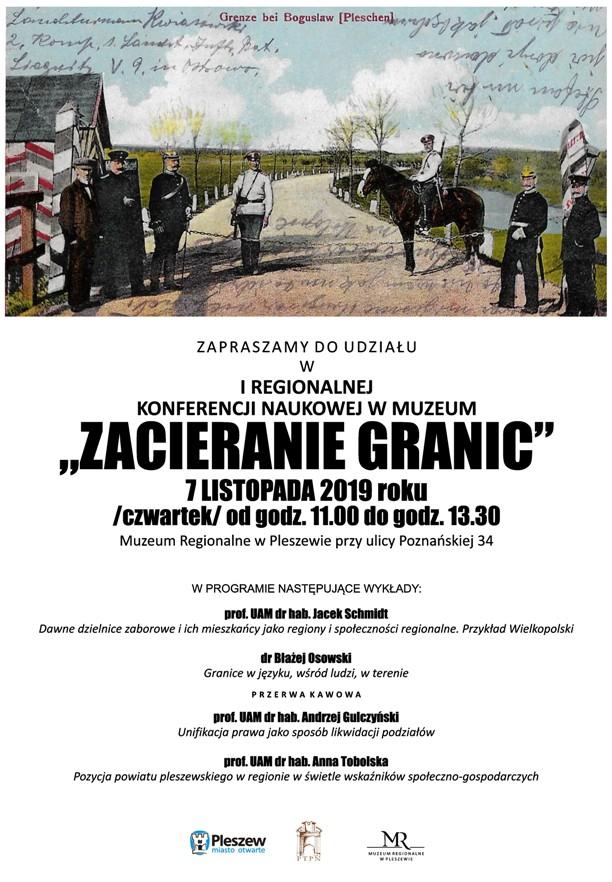 """""""Zacieranie granic"""" w Muzeum Regionalnym w Pleszewie"""