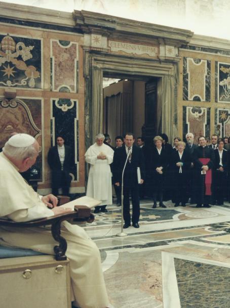 Z pleszewską pielgrzymką u papieża