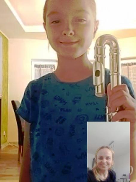 Granie na flecie w Internecie… z nagrodami