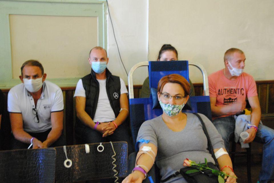 Oddali prawie 60 litrów krwi