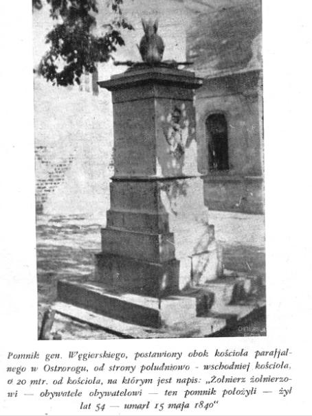 Co się stało z pomnikiem generała?