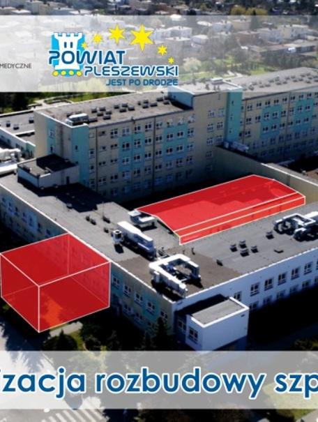 16 milionów na rozbudowę szpitala